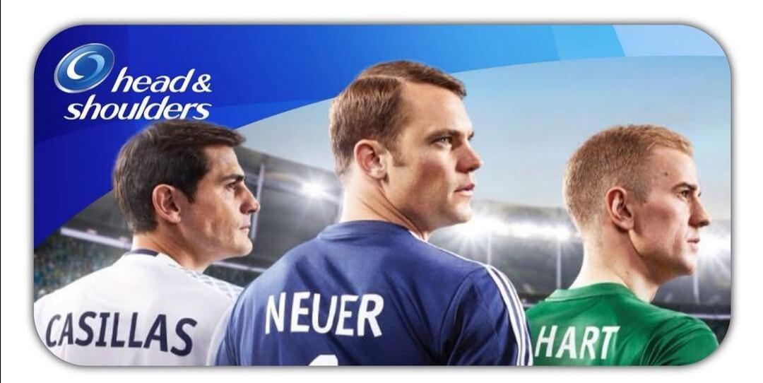 Werbung mit Manuel Neuer, Iker Cassillas, Joe Hart